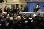 رهبر معظم انقلاب اسلامی در دیدار رئیس، مسئولان و جمعی از قضات و کارکنان قوه قضاییه: پیشنهاد مذاکره فریب آمریکا برای خلع سلاح و عوامل اقتدار ملت است
