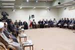 رهبر معظم انقلاب اسلامی در دیدار رئیسجمهور و اعضای هیئت دولت: دشمن هیچ غلطی نمیتواند بکند چهل سال دوم قطعاً بهتر خواهد بود