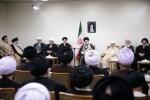 رهبر معظم انقلاب اسلامی در دیدار رئیس و نمایندگان مجلس خبرگان رهبری: اروپا به تحریمهای آمریکا پایبند ماند باید از آنها قطع امید کرد
