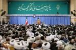 رهبر معظم انقلاب اسلامی در دیدار هزاران نفر از بسیجیان: ملت بار دیگر عظمت خود را نشان داد و توطئه خطرناکی را نابود کرد