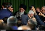 دیدار رئیس و نمایندگان مجلس شورای اسلامی در سالروز تأسیس مجلس با رهبر انقلاب اسلامی
