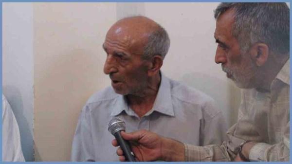پدر شهید رضایی