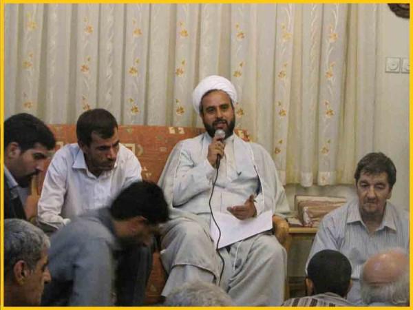 حجة الاسلام عظیمی امام جماعت مسجد موسی بن جعفر