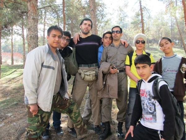اردوی سرخه حصار-3